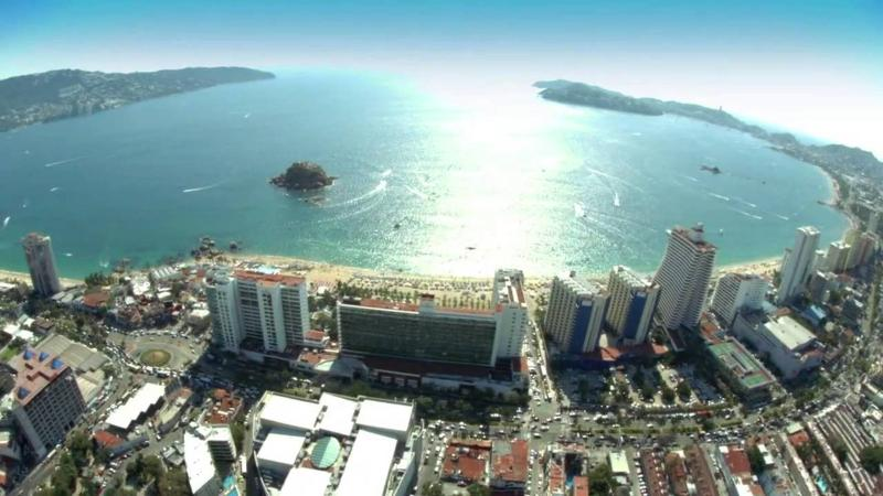 General view D\'cesar Hotel Acapulco