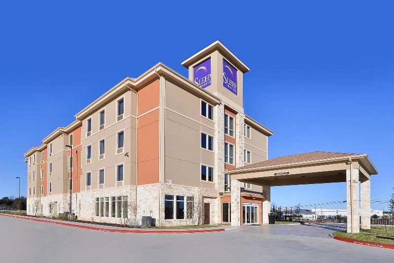 General view Sleep Inn & Suites Austin  Northeast