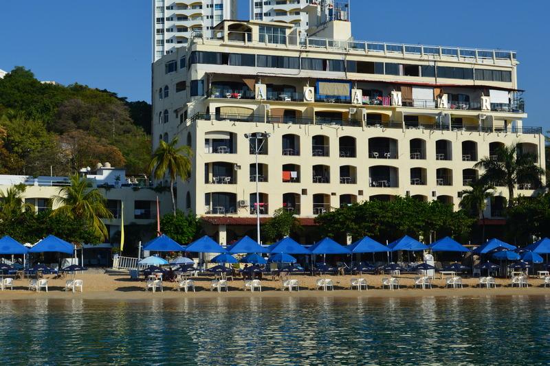 General view Acamar Beach Acapulco