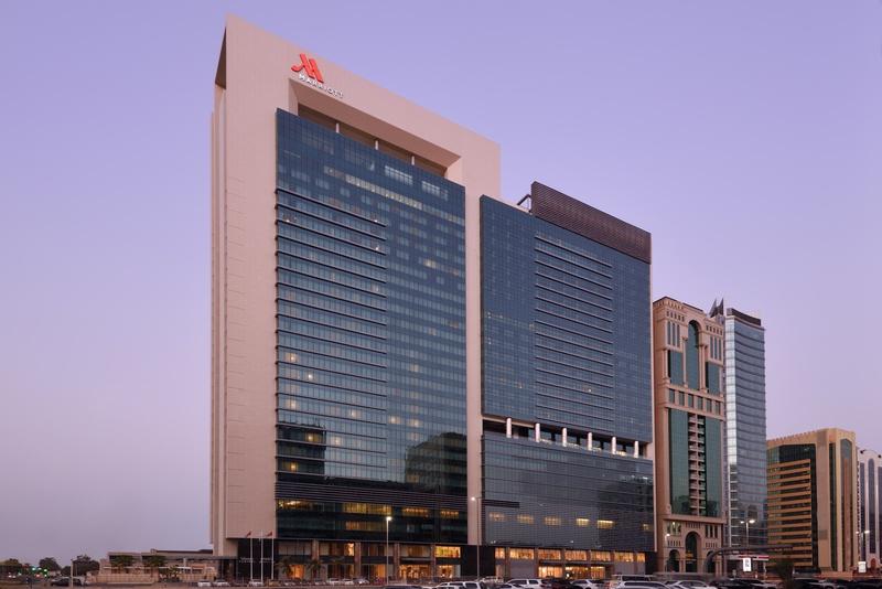General view Marriott Hotel Downtown, Abu Dhabi