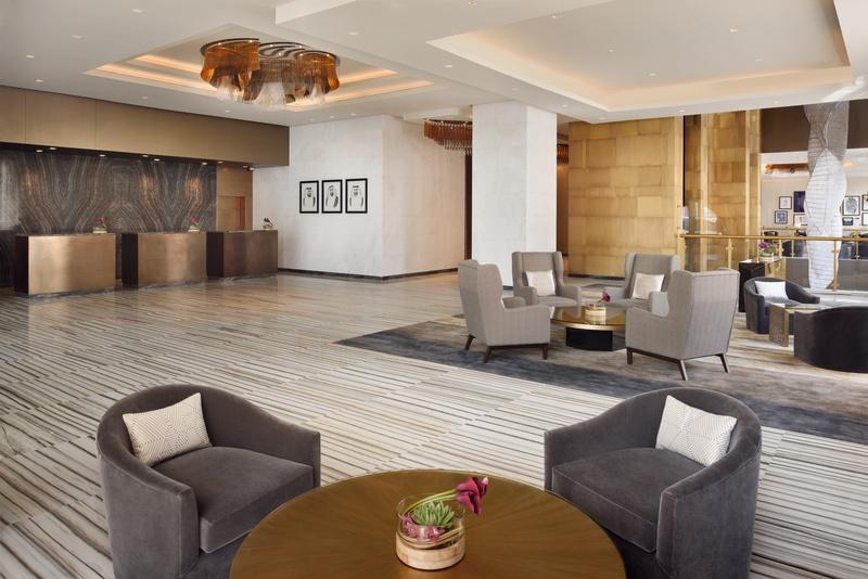 Lobby Marriott Hotel Downtown, Abu Dhabi