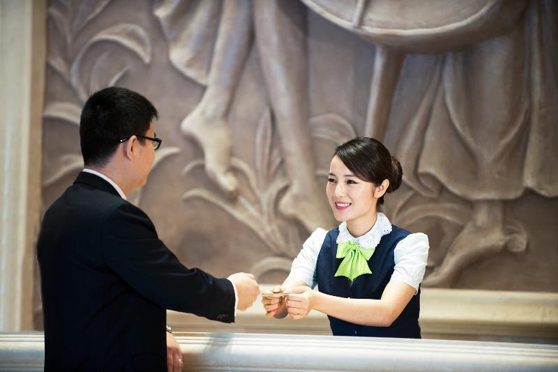 Lobby Vienna Hotel Shanghai Hongqiao Airport Center