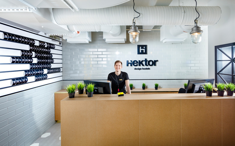 Lobby Hektor Design Hostel