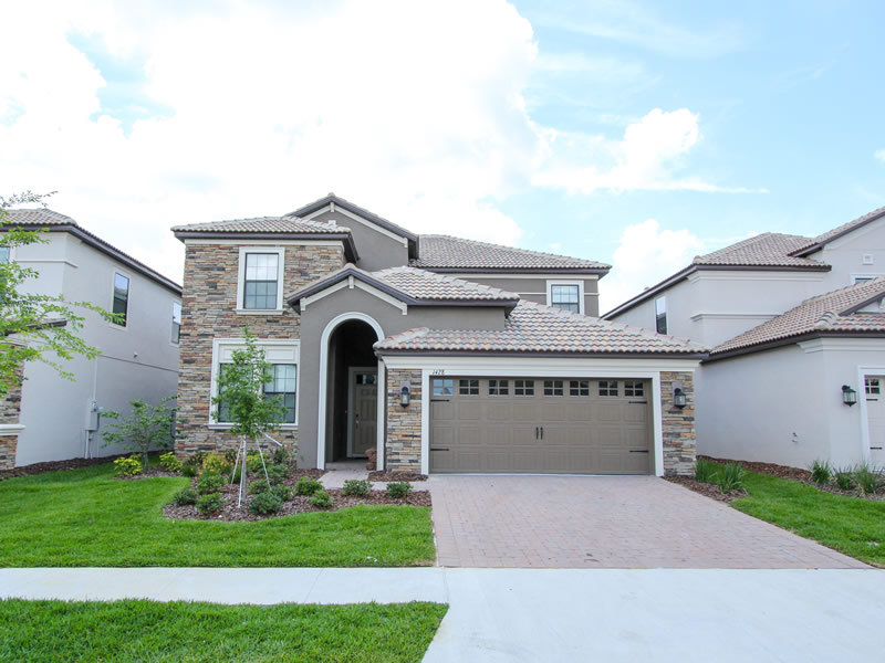General view Villa 1428 Rolling Fairway Dr, Champions Gate