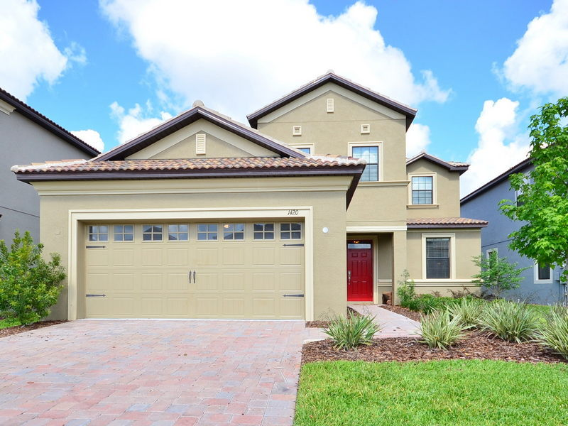 General view Villa 1420 Wexford Way, Champions Gate, Orlando