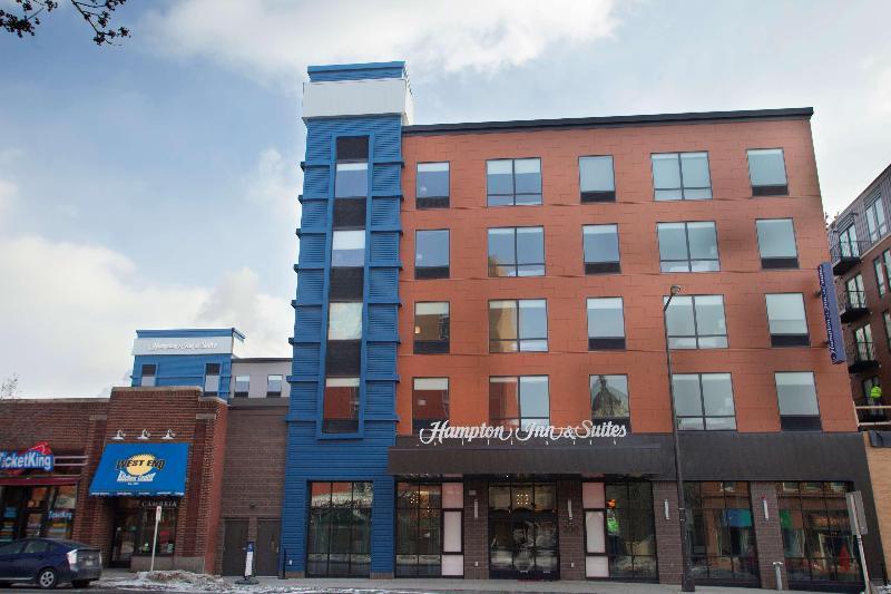 General view Hampton Inn & Suites St. Paul Downtown, Mn