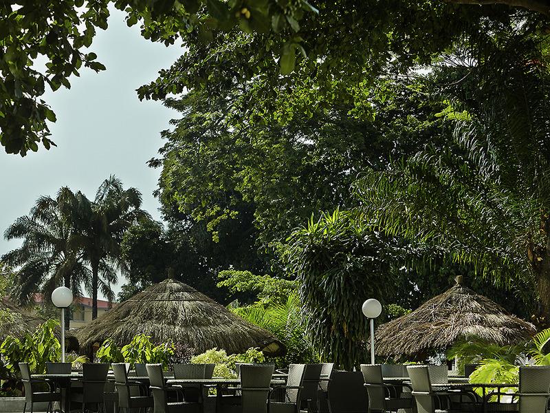 Terrace Pullman Kinshasa Grand Hotel