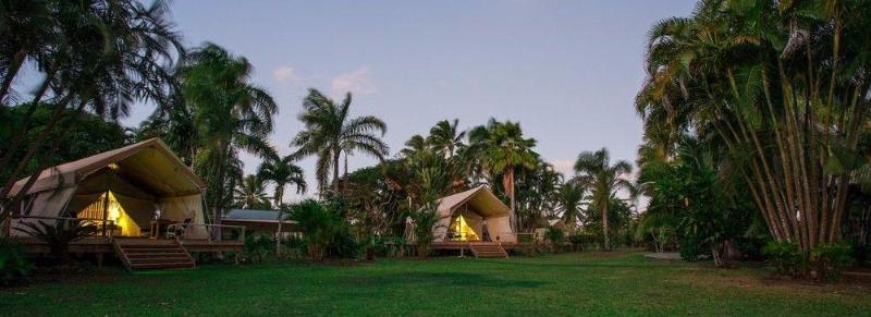 General view Ikurangi Eco Retreat