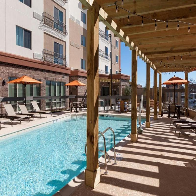 Pool Courtyard Fort Worth Historic Stockyards
