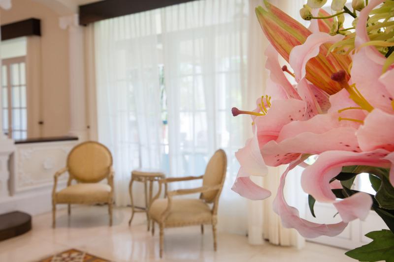 Lobby Hotel Delfina Mansion Boutique