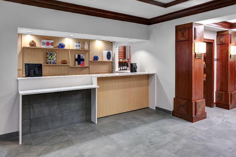 Lobby Hyatt House Morristown