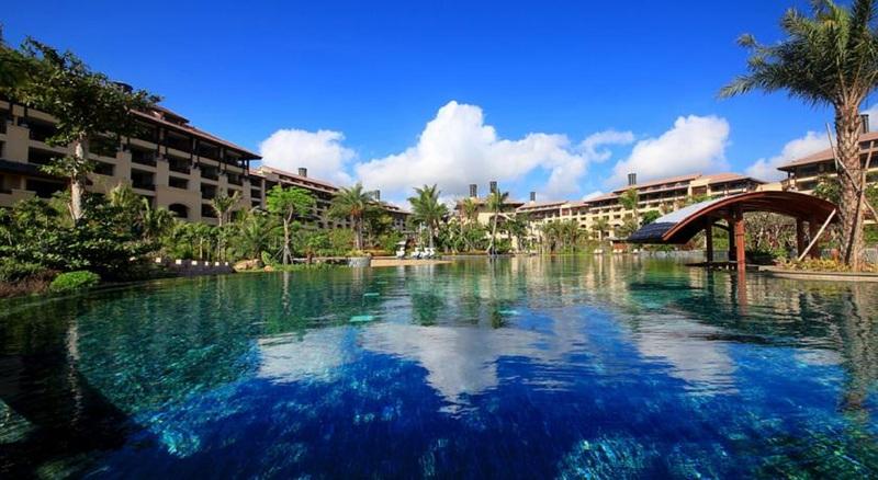 General view Wanda Vista Resort Sanya