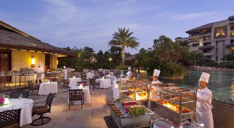 Restaurant Wanda Vista Resort Sanya