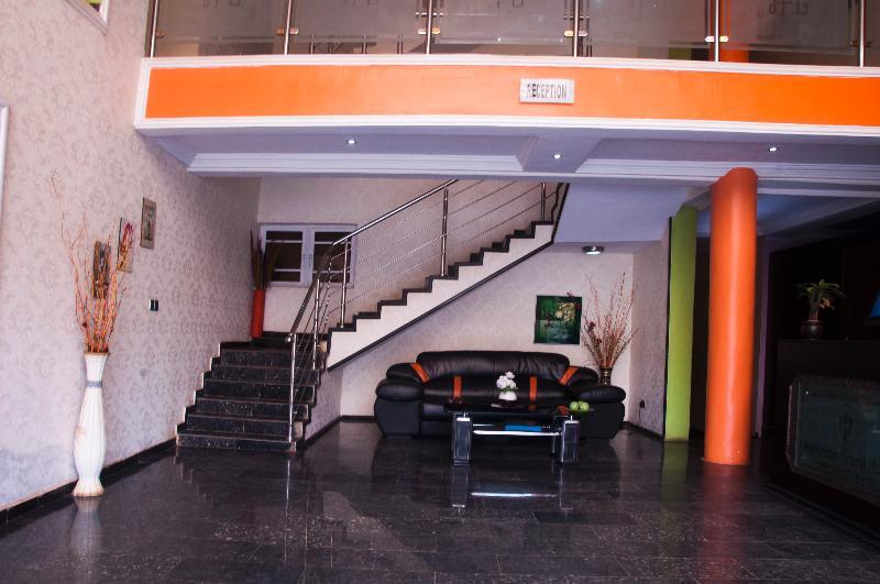 Lobby Haminton Grand Hotel