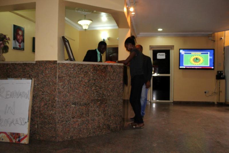 Lobby Ostra Hotels