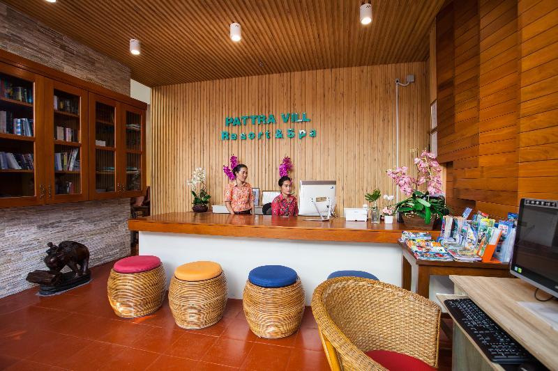 Lobby Pattra Vill Resort