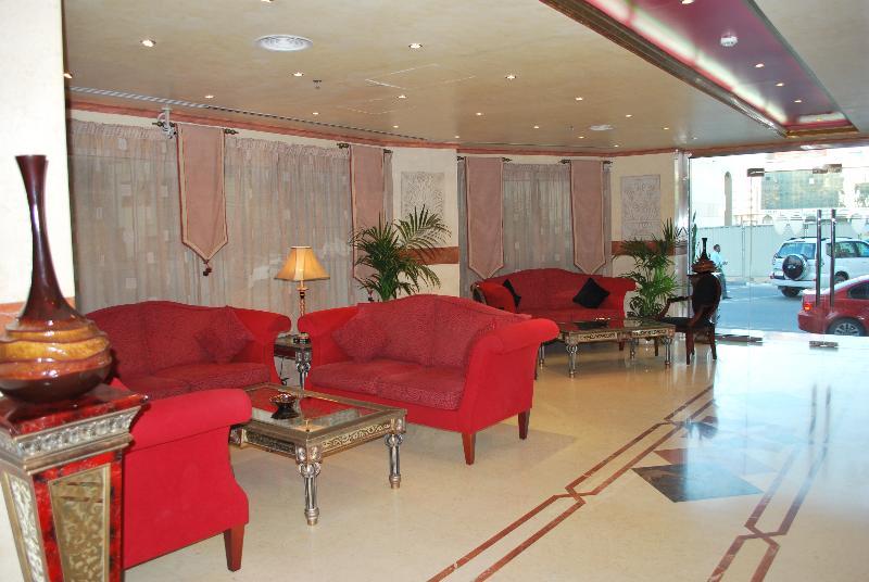 Lobby Al Deyafa Hotel Apartments 3