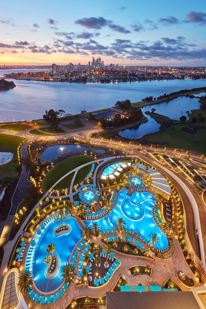 General view Crown Towers Perth