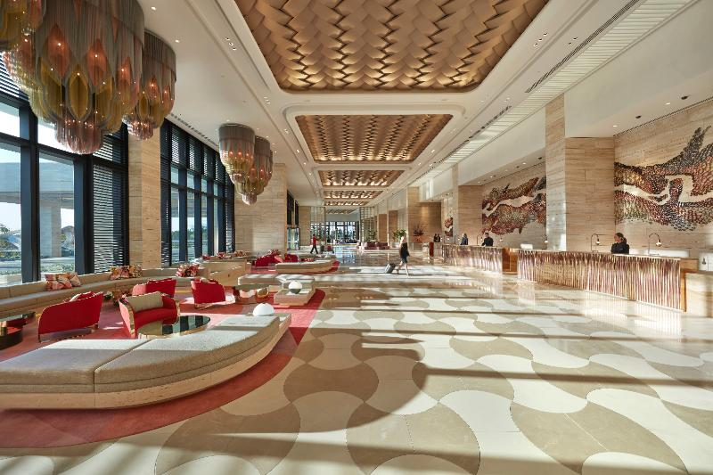 Lobby Crown Towers Perth