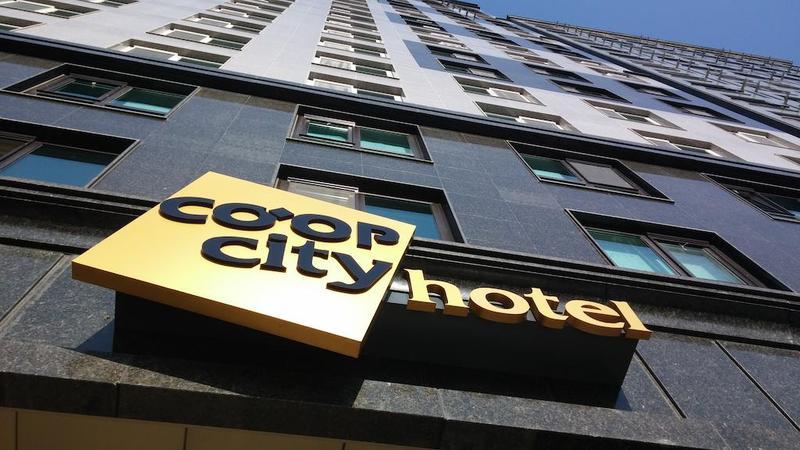Сеул - Coop City Hotel BMK