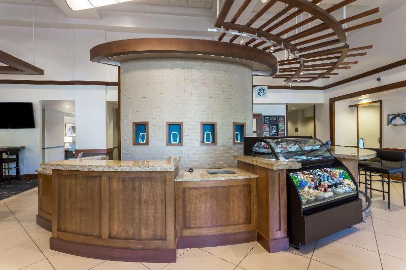 Lobby Hyatt Place Houston Bush Airport
