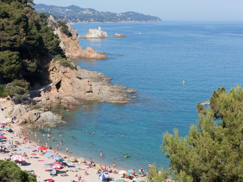 Beach Pierre & Vacances Blanes Playa