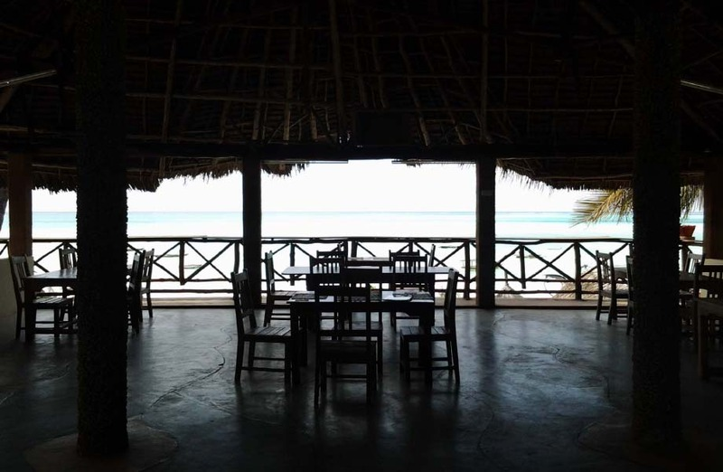 Restaurant Kitete Beach Bungalows