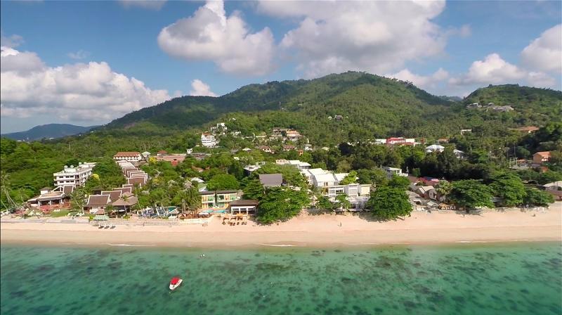 General view White Sand Samui Resort