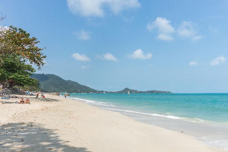 Beach White Sand Samui Resort