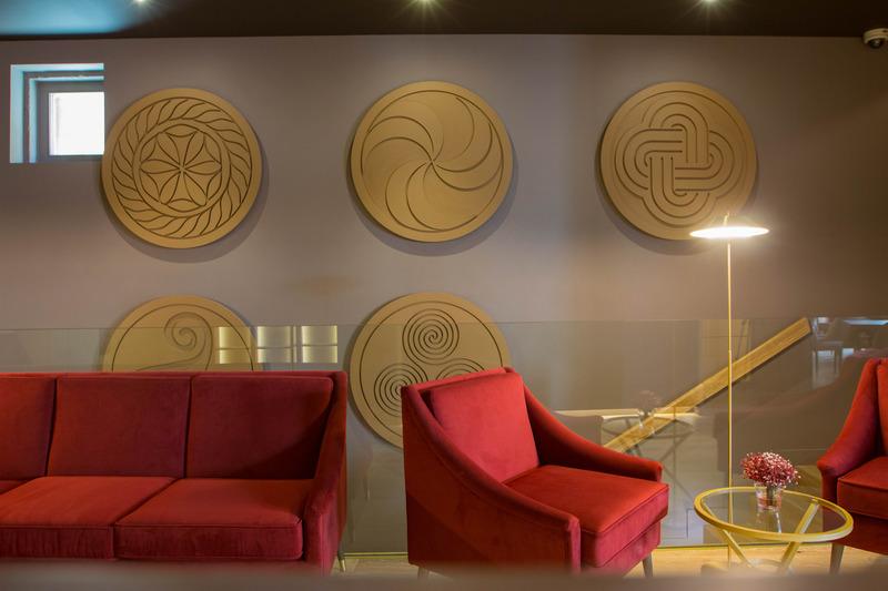 Lobby Burgus Tribute & Design Hotel