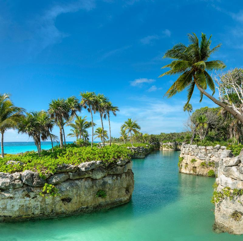 General view Xcaret Mexico Tierra Family All Inclusive