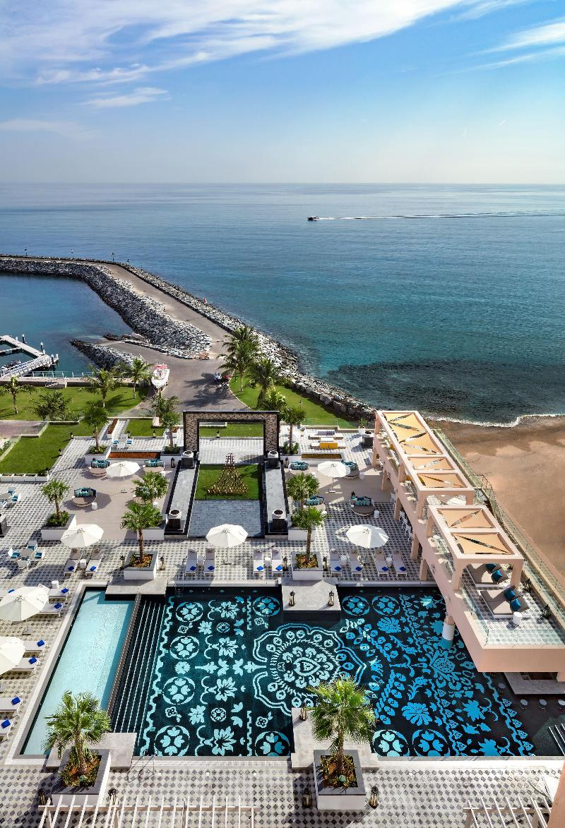 Terrace Fairmont Fujairah Beach Resort