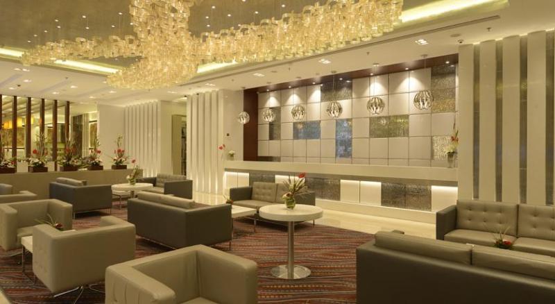 Lobby Genesis Hotel Mumbai