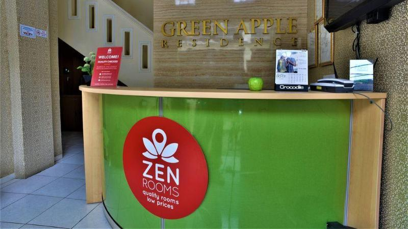 Lobby Zen Rooms Green Apple