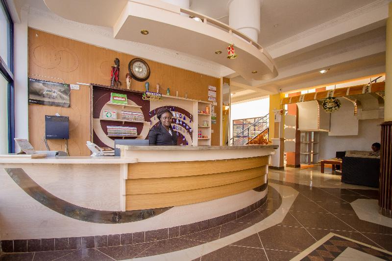 Lobby West Wind Hotel