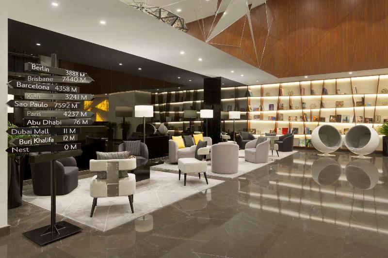 Lobby Tryp By Wyndham Dubai