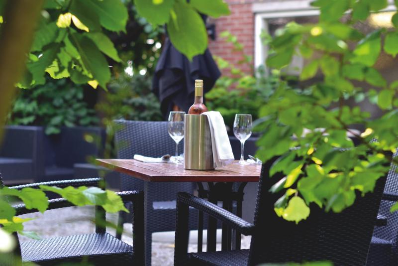 Terrace Fletcher Badhotel Noordwijk