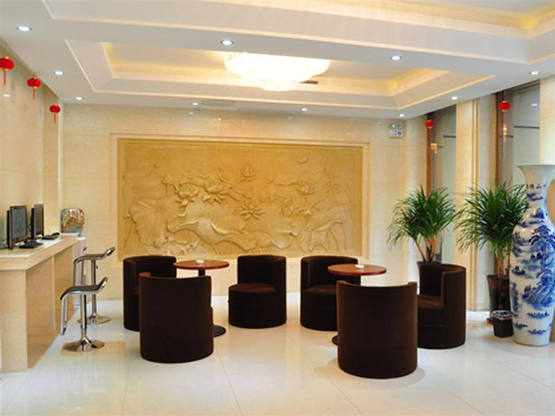 Lobby Greentree Inn Anhui Hefei West Wuhu Road Jinzhai