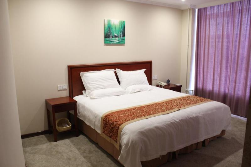 Room Greentree Inn Shanghai Pudong Airport Huaxia East