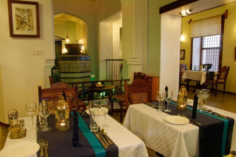 Restaurant Zanzibar Palace Hotel