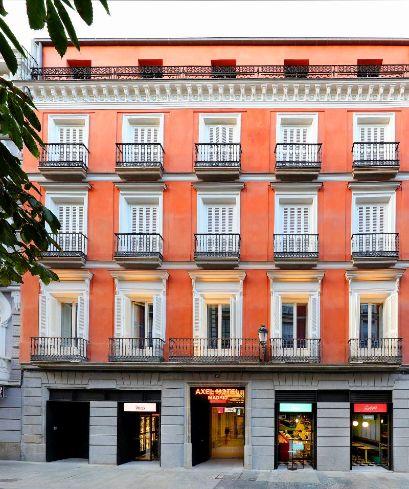 General view Axel Hotel Madrid