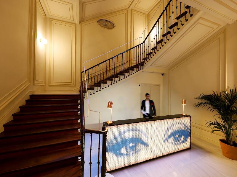 Lobby Axel Hotel Madrid