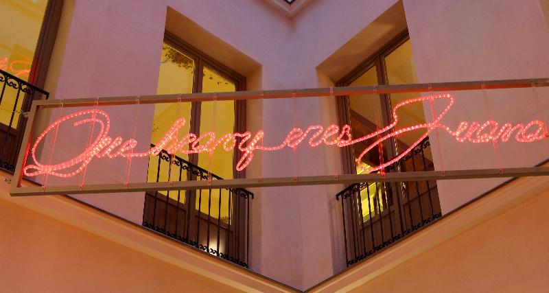 Terrace Axel Hotel Madrid