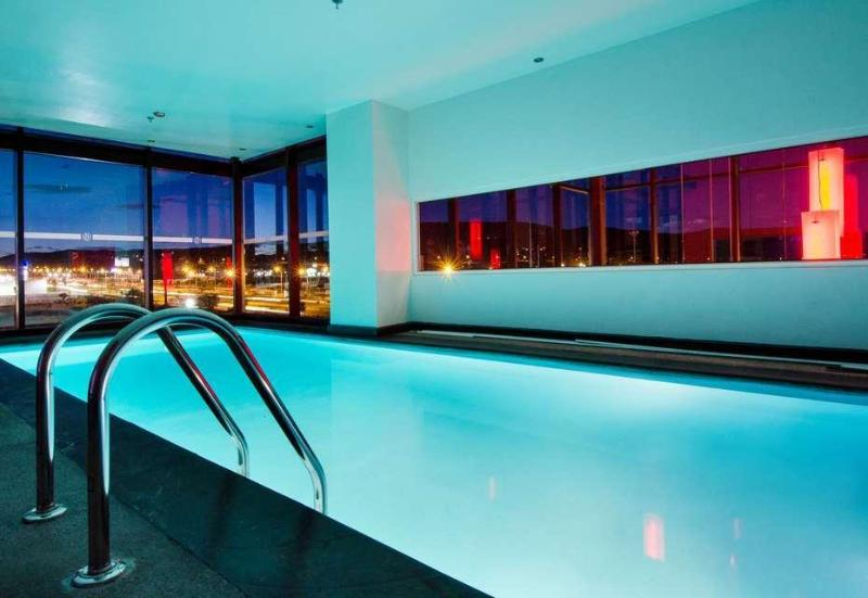 Pool Ramada Encore Puebla Mexico