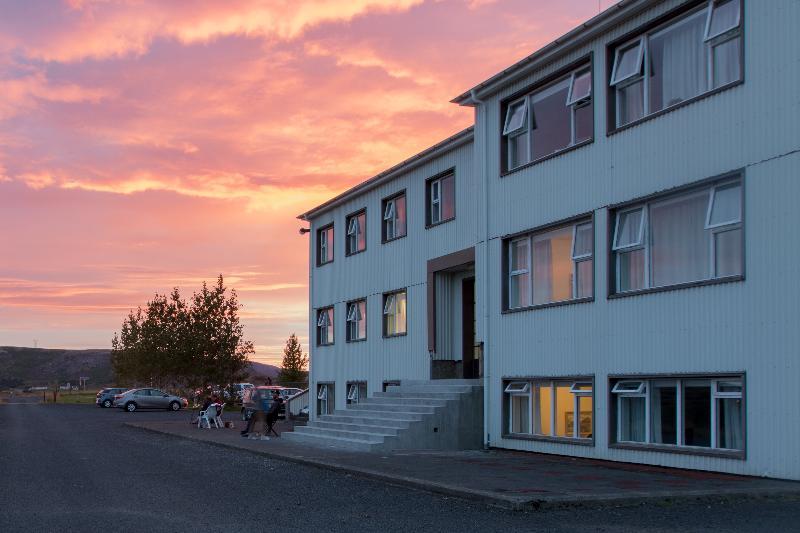 General view Ljosafosskoli Hostel