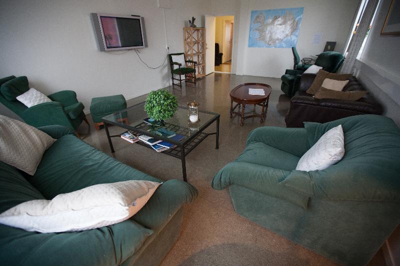 Lobby Ljosafosskoli Hostel