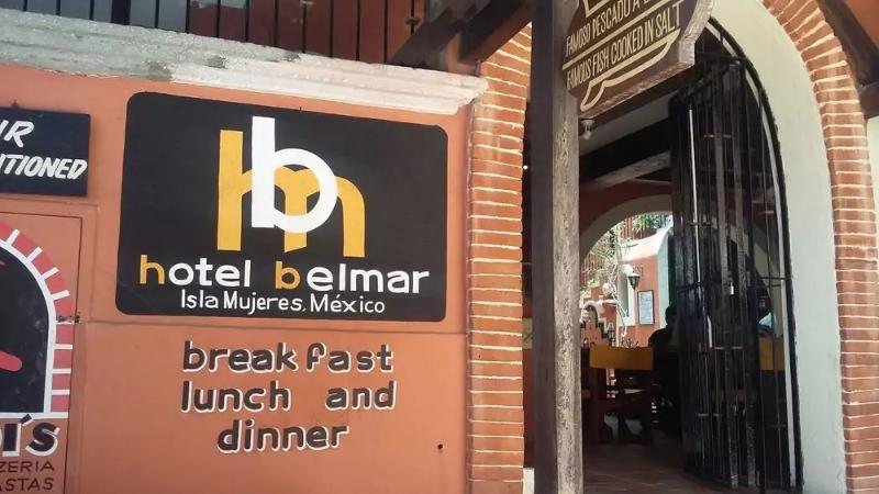 Lobby Belmar Isla Mujeres