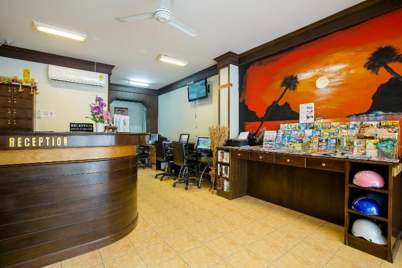Lobby Baan Veerakit Guesthouse