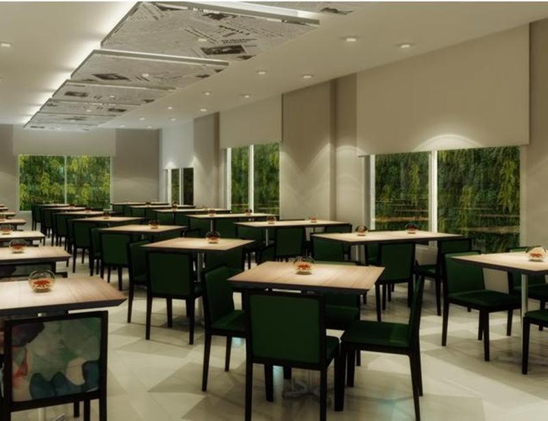 Restaurant Park Inn Santos