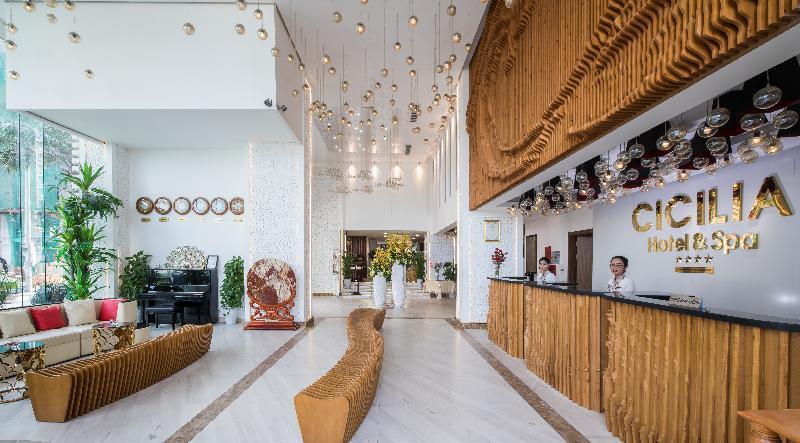 Lobby Cicilia Da Nang Hotel & Spa